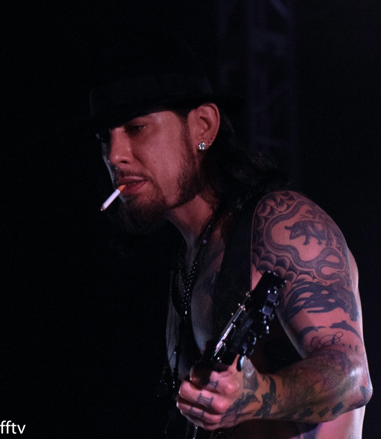 Dave Navarro; Jane's Addiction- Bunbury Fest.